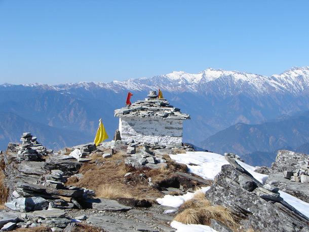 Temple at Chandrashila