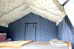 Swiss Tents from inside