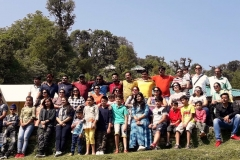 Group at the camps
