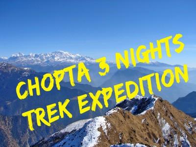 Chopta 3 Nights Trekking Tour