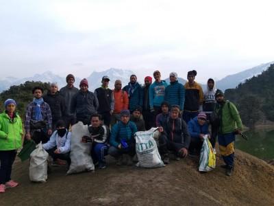 Shiwani Gusain Deoriatal Clean Drive6