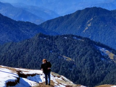 Tungnath And Chandrashila Trek With Auli From Chopta
