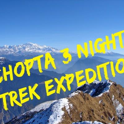 Deoriatal to Chopta Trek via Rohini Bugyal