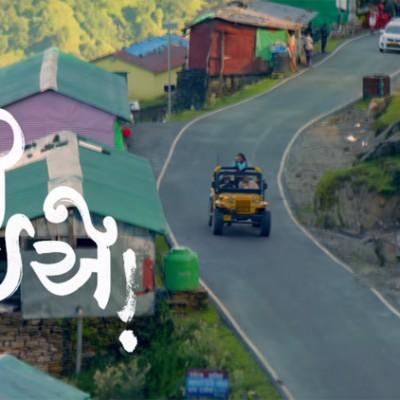 Chaal Jeevi Laiye Gujarati Movie Shooting in Chopta