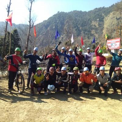 Mountain Biking Training Started : 18 Feb 2020 (Monal Festival)
