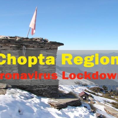 Chopta Region Closed for Tourists and Trekkers due to Coronavirus