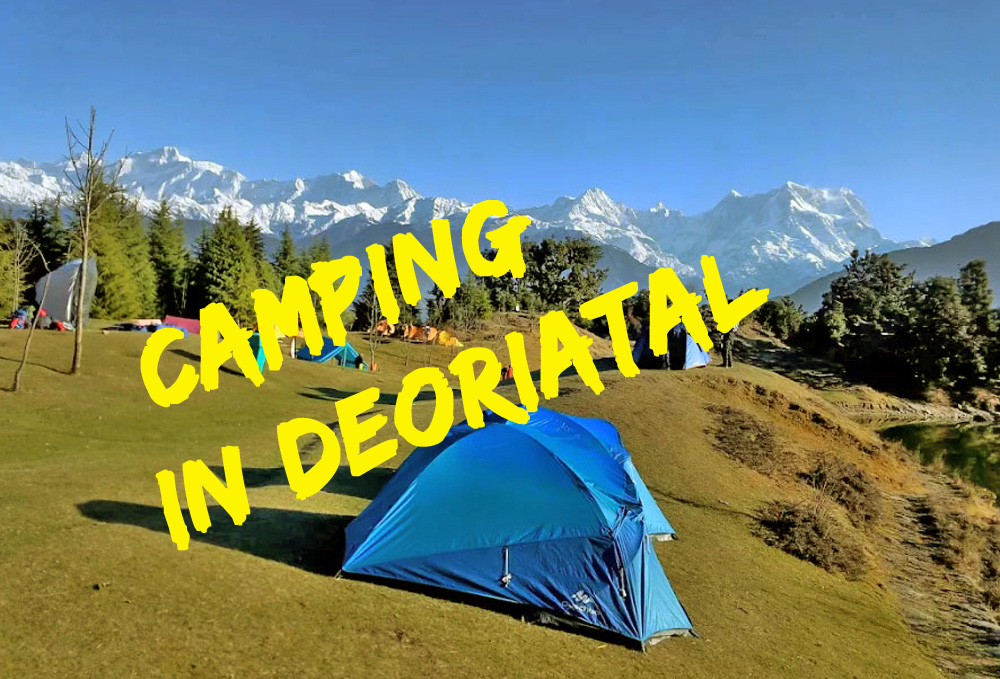 Camping in Deoriatal
