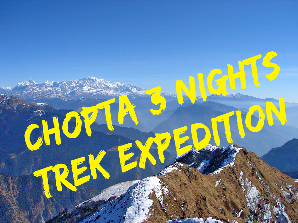 Deoriatal to Chopta Trek via Rohini Bugyal