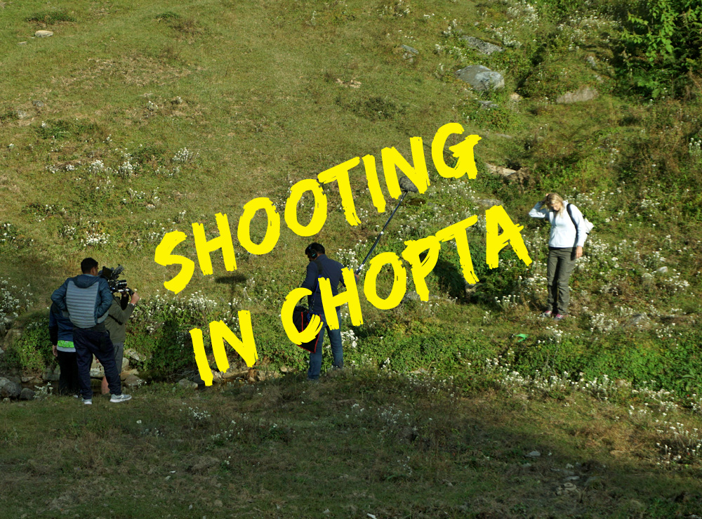 Shooting in Chopta