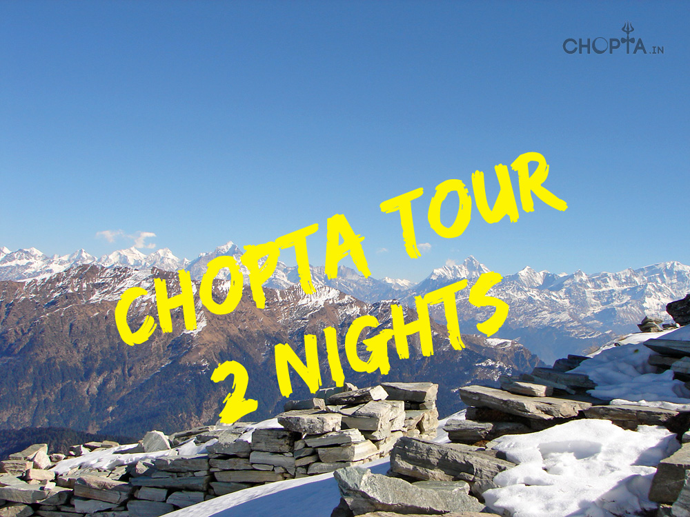 2 Nights Chopta - Tungnath Trekking Tour Package