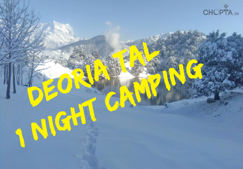 Deoriatal 1 Night Short Camping Package