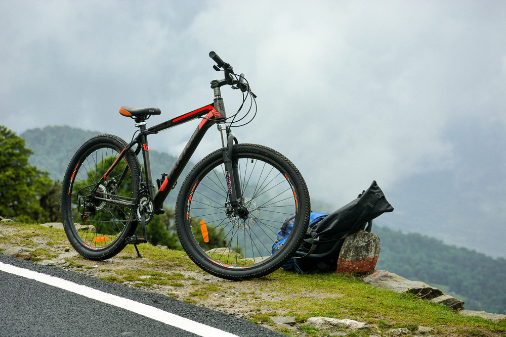 Cycling in Chopta