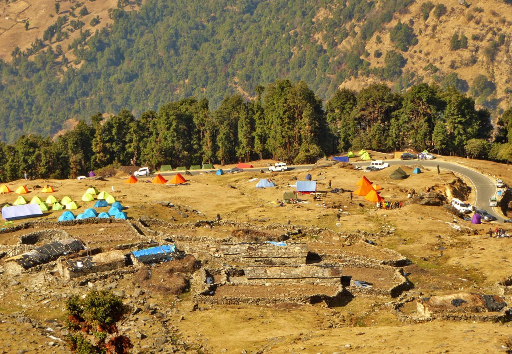Camping Area in Chopta
