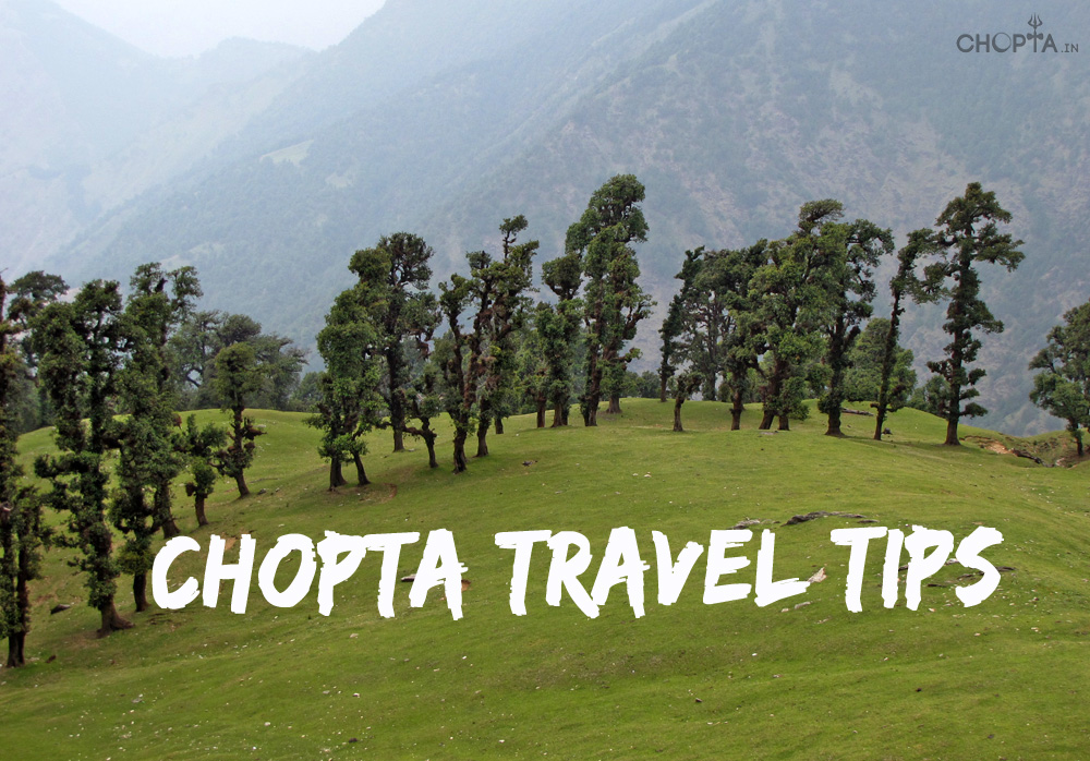 Chopta Travel Tips