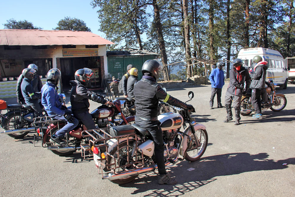 Bike tour of Chopta
