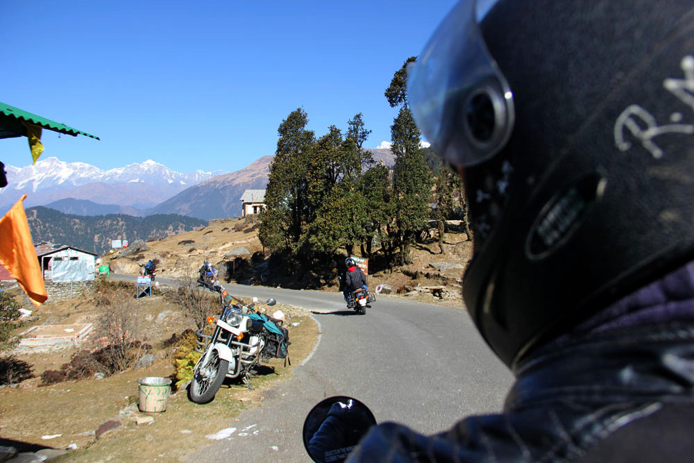 Biking in Chopta
