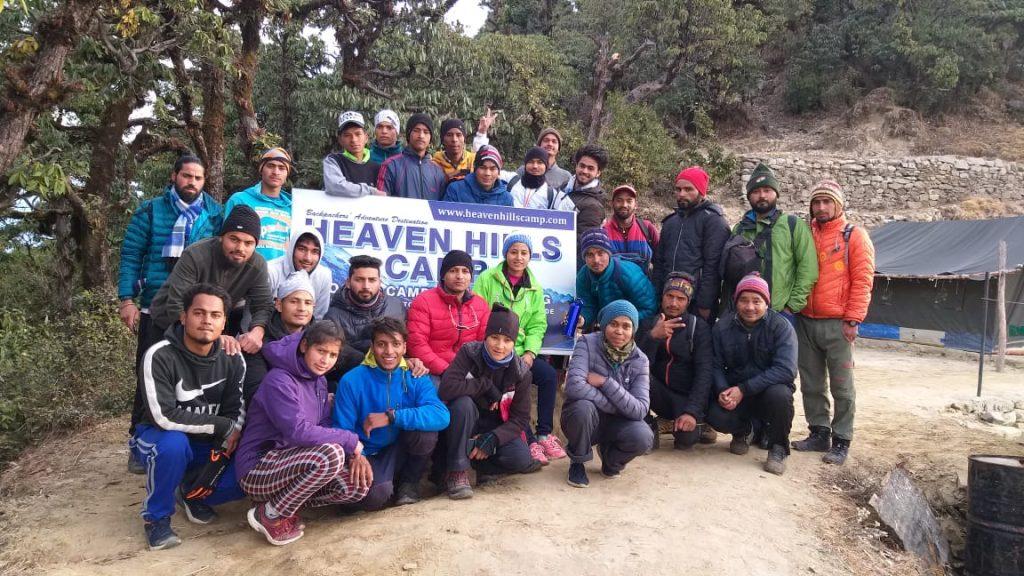 MTB Team at Sari Village