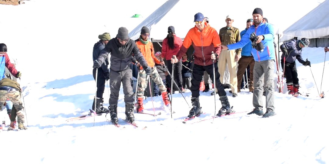 Skiing Training in Chopta (Monal Festival)