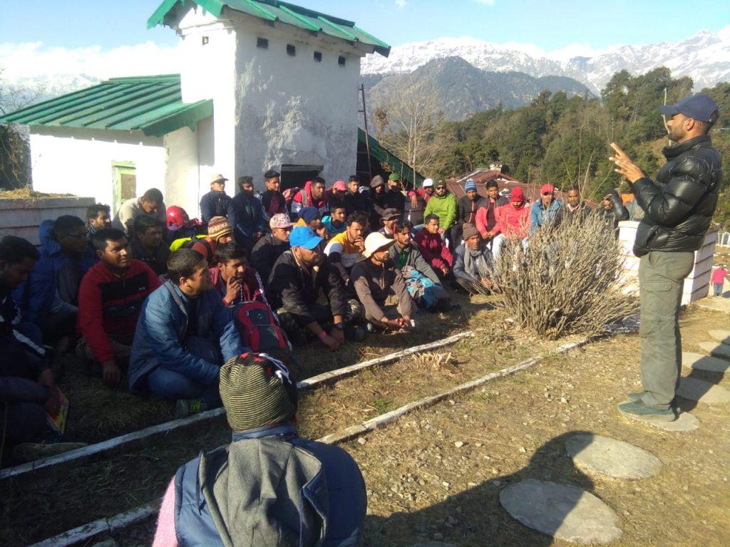 Training at Duggalbita