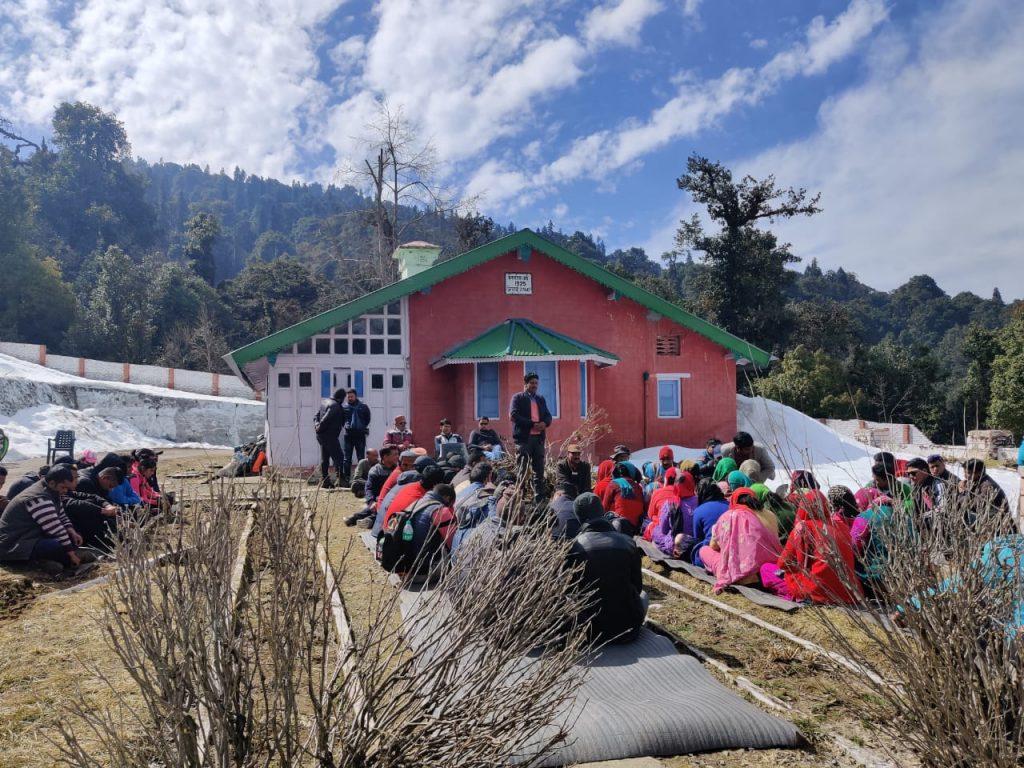 Training in Chopta